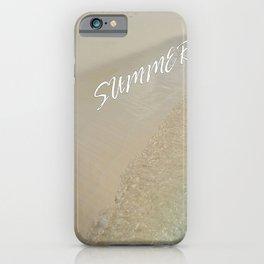 Summer on the Beach iPhone Case