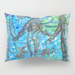 Life And (Slow) Death In Beach City (Or Keepin' My Mouth Shut) Pillow Sham