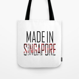 Made In Singapore Tote Bag