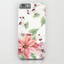 Poinsettia 2 iPhone Case