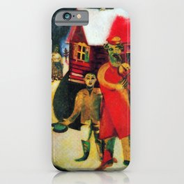 Marc Chagall The Violinist iPhone Case