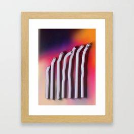 The Bends Framed Art Print
