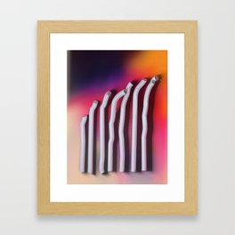 The Bends Framed Art Print