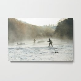 Early Morning on the River. Metal Print