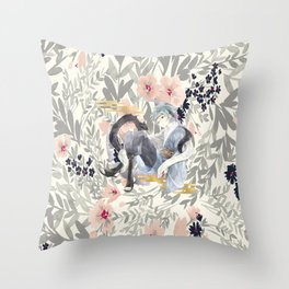 teen mitsuki Throw Pillow