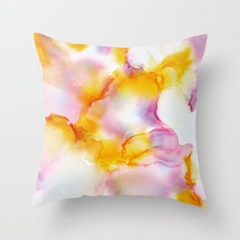 Dreams Fading In And Out Throw Pillow