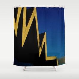 Riverside Heartbeat Shower Curtain