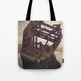 Shipwrecked - The Peter Iredale Tote Bag