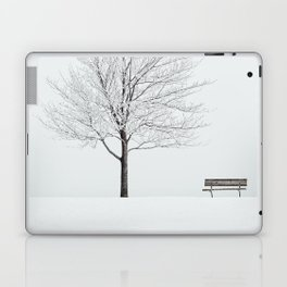 Branches in Frost Laptop & iPad Skin
