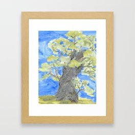 Storybook Tree Framed Art Print