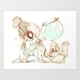 Wish-fish Art Print