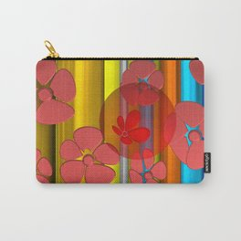 RED FLOWER IN POMP Carry-All Pouch