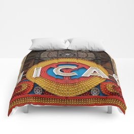 Chicago letters Comforters