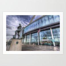 Bobby Moore Statue Wembley Stadium Art Print
