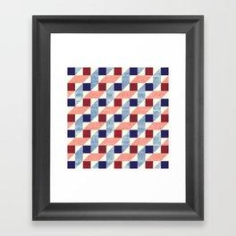 Lightly Bauhaus Framed Art Print