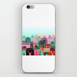 City Town iPhone Skin