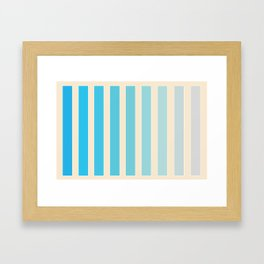 GRADIENT 1 Framed Art Print