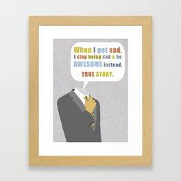 LEGEN____waitforit____DARY Framed Art Print