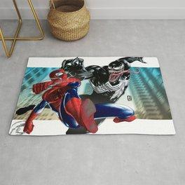 Spider-Man vs Venom Rug