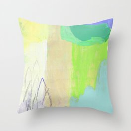 Optimist (Spring) Throw Pillow