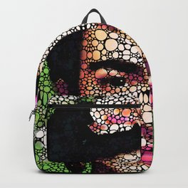 Frida Kahlo Art - Define Beauty Backpack
