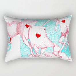 Playing With love Rectangular Pillow