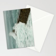 Sennen cove breakwater Stationery Cards