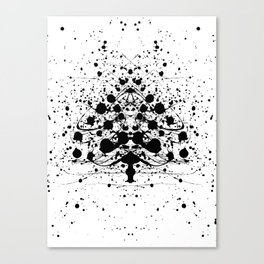 Special Christmastree Canvas Print