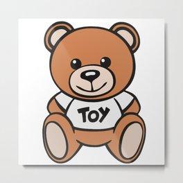 Moschino Toy Metal Print