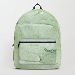 Gently green painting Backpack