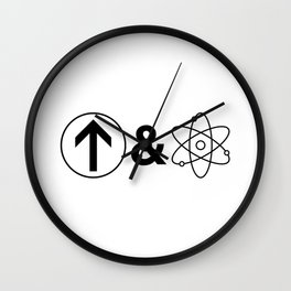 Up&Atom. Wall Clock