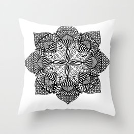 mandala 4 Throw Pillow