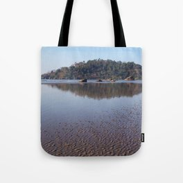Across the Water to Monkey Island, Palolem Tote Bag