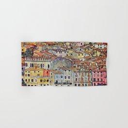 "Gustav Klimt ""Malcesine on Lake Garda"" Hand & Bath Towel"