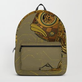 Golden fish Backpack