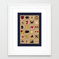 klaine Framed Art Prints featuring I Still Believe in Klaine (Patchwork Love Quilt) by OldCoyote