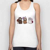 nori Tank Tops featuring Dwarpaca family #3 by Lady Cibia