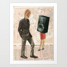 The Audiophile Art Print