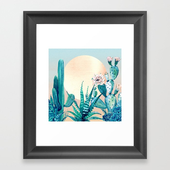 Desert Dawn Framed Art Print