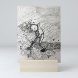 Windy Day Mini Art Print