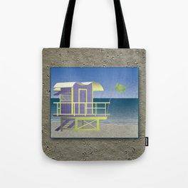 Lifeguard Platform Tote Bag