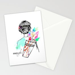 MICI Girls March issue 2016 Stationery Cards