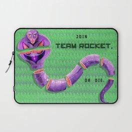 Join Team Rocket, or Die (Arbok) Laptop Sleeve