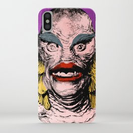 The Gorgeous Gill Man from the Black Lagoon iPhone Case