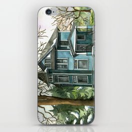The House Under the Big Tree iPhone Skin