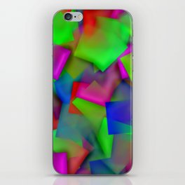 Softly cubism ... iPhone Skin