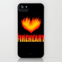 Fireheart iPhone Case
