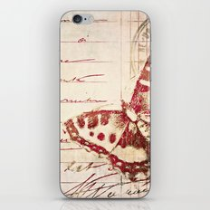 red winged iPhone & iPod Skin