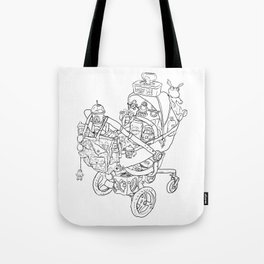 Coloring for Real Grownups. Stroller Tote Bag