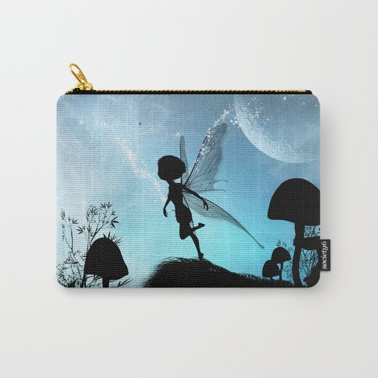 Fairy silhouette Carry-All Pouch